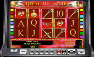 слот Royal Treasures новоматик